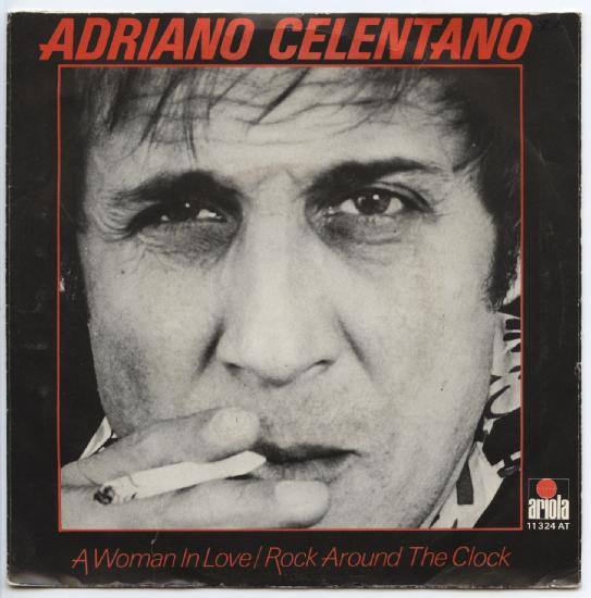 "ADRIANO CELENTANO ""A woman in love"""