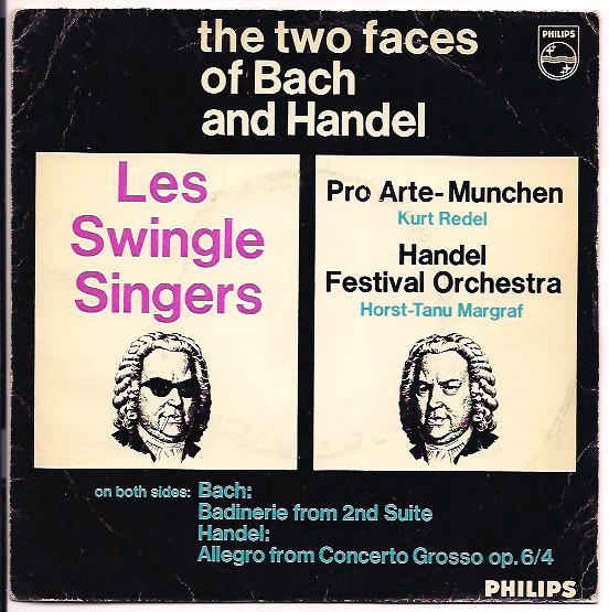 "LES SWINGLE SINGERS ""The two faces of Bach and Handel"""