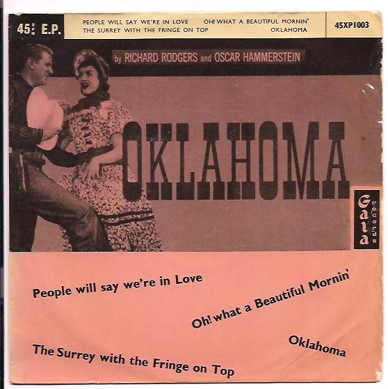 "OKLAHOMA ""People will say we're in love"" EP"