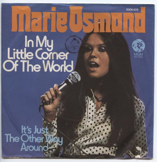 "MARIE OSMOND ""In my little corner of the world"""