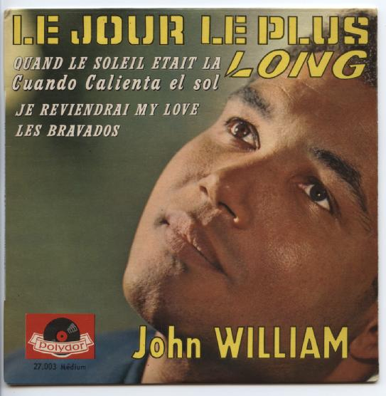 "JOHN WILLIAM ""Le jour le plus long"" EP"