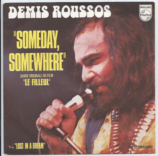 "DEMIS ROUSSOS ""Someday somewhere"" (fr)"