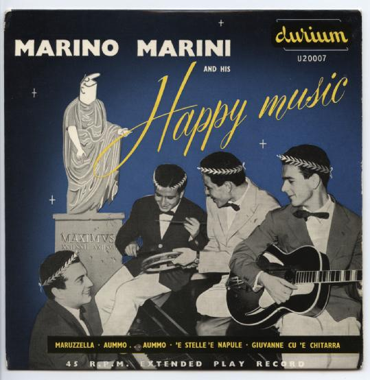 "MARINO MARINI ""Happy music"" EP"