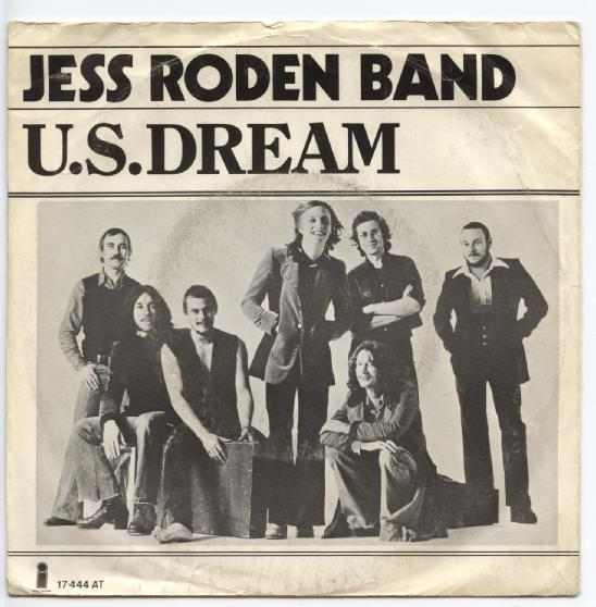 "JESS RODEN BAND ""U.S. dream"""