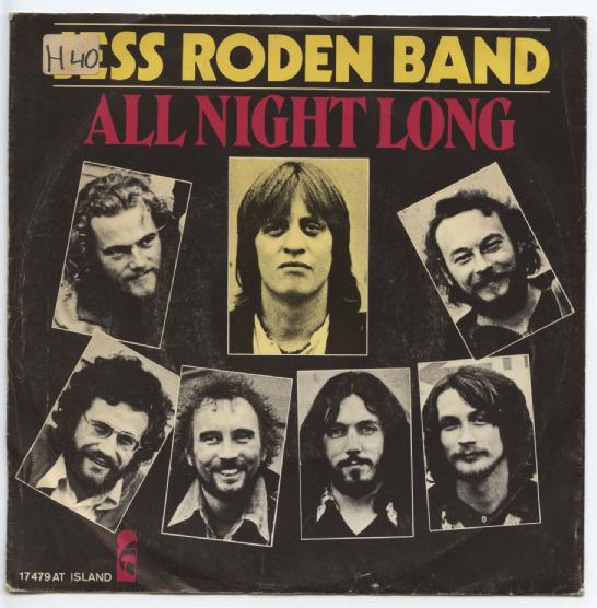 "JESS RODEN BAND ""All night long"""