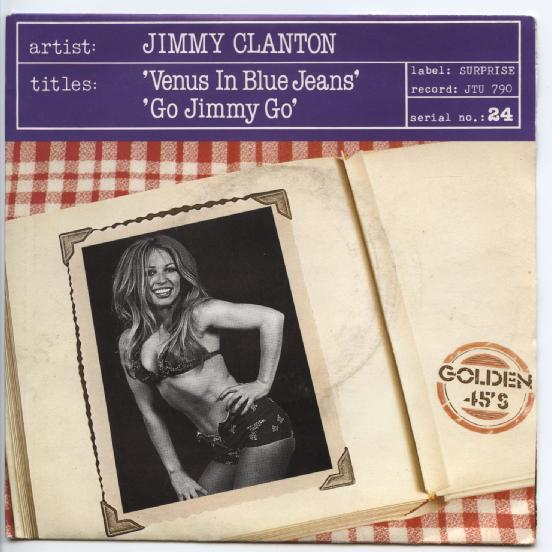 "JIMMY CLANTON ""Venus in blue jeans"""