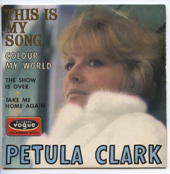 "PETULA CLARK ""This is my song"" EP"