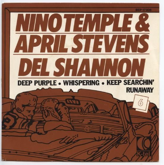 "NINO TEMPO & APRIL STEVENS & DEL SHANNON ""Deep purple"" EP"