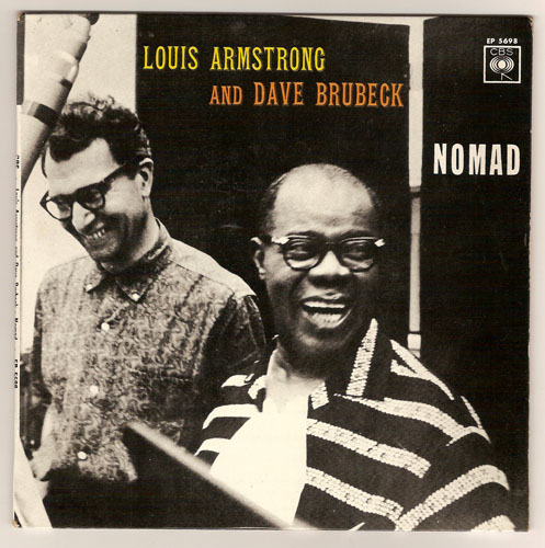 "LOUIS ARMSTRONG & DAVE BRUBECK ""Nomad"" EP"