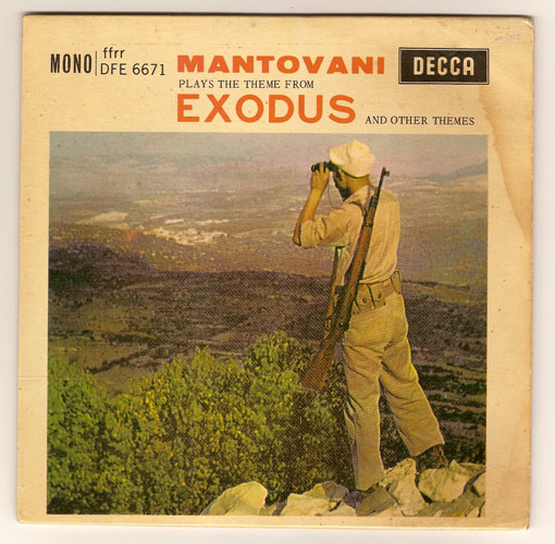 "EXODUS ""Mantovani plays Exodus"" EP"