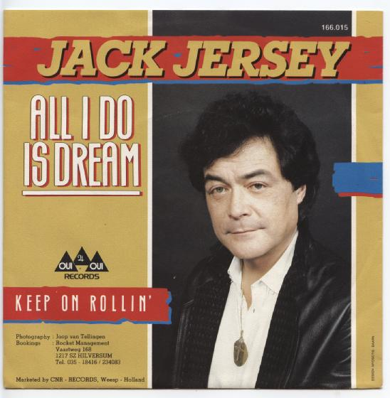 "JACK JERSEY ""All I do is dream"""