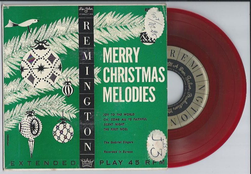 "GABRIEL SINGERS ""Merry Christmas Melodies"" EP"