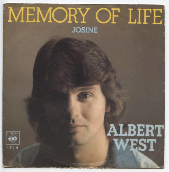 "ALBERT WEST ""Memory of life"""