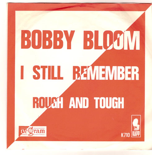 "BOBBY BLOOM ""I still remember"""