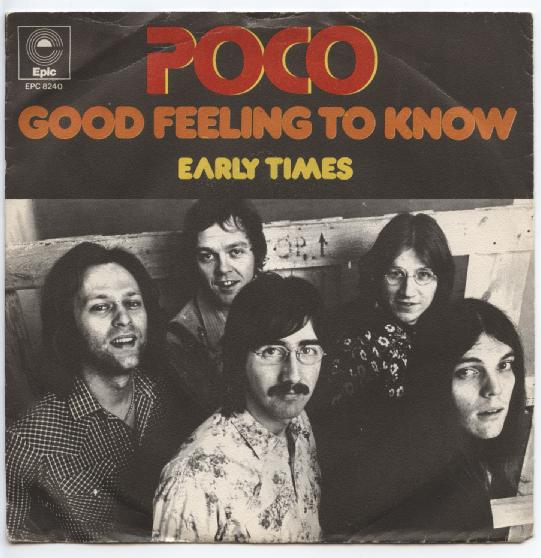 "POCO ""Good feeling to know"""