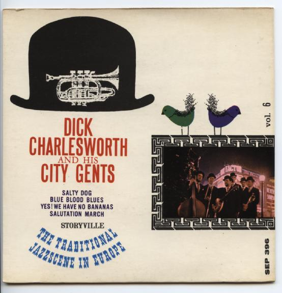 "DICK CHARLESWORTH & HIS CITY GENTS ""Salty dog vol. 6"" EP"
