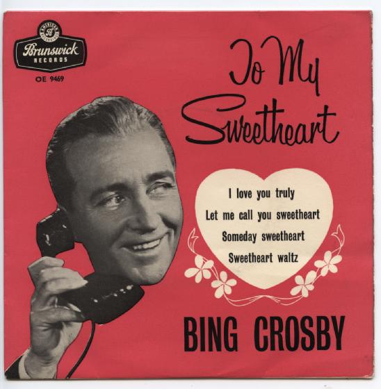 "BING CROSBY ""To my sweetheart"" EP"
