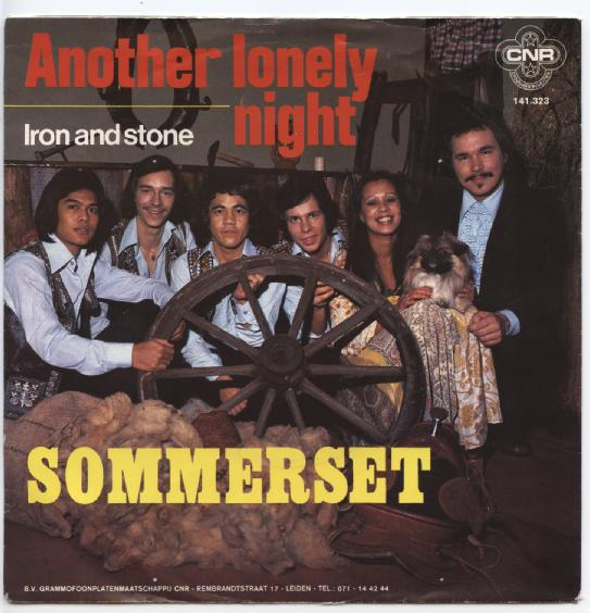 "SOMMERSET ""Another lonely night"""