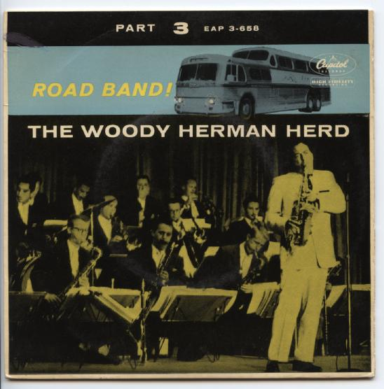 "WOODY HERMAN ""Road Band part 3"" EP"