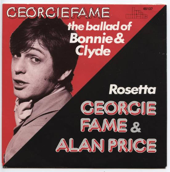 "GEORGIE FAME ""The ballad of Bonnie and Clyde"" (B)"