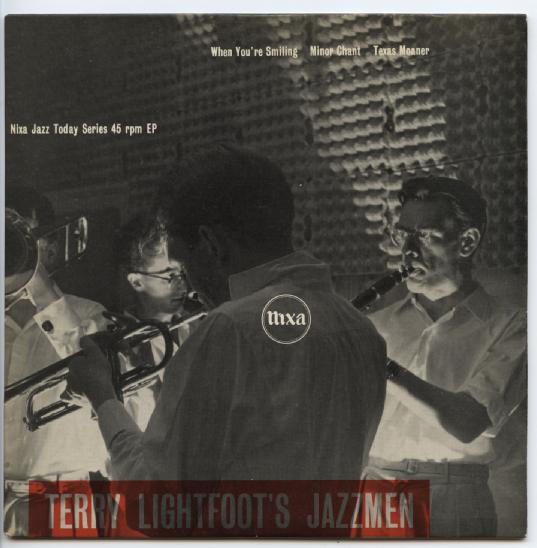 "TERRY LIGHTFOOT'S JAZZMEN ""When you're smiling"" EP"