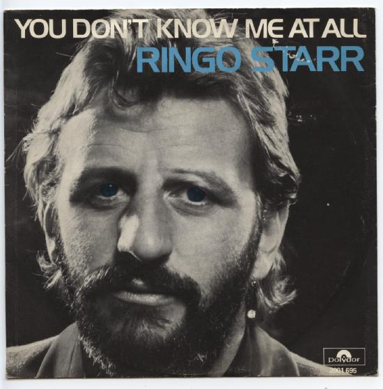"RINGO STARR ""You don't know me at all"""