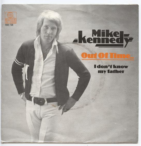 "MIKE KENNEDY ""Out of time"""