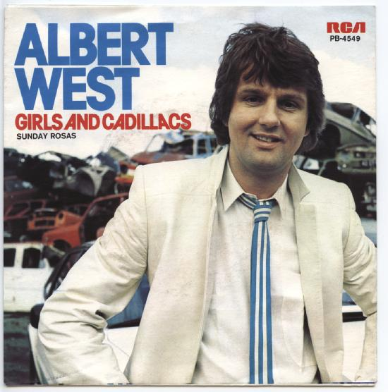 "ALBERT WEST ""Girls and Cadillacs"""