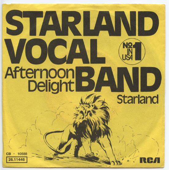 "STARLAND VOCAL BAND ""Afternoon delight"" (d)"