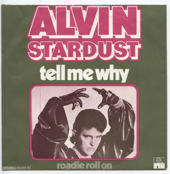 "ALVIN STARDUST ""Tell me why"""