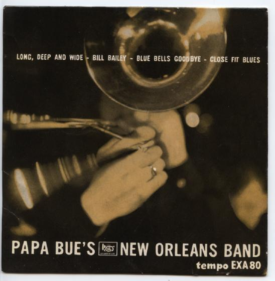 "PAPA BUE'S NEW ORLEANS BAND ""Long, deep and wide"" EP"