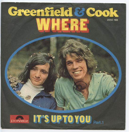 "GREENFIELD & COOK ""Where"" (d)"