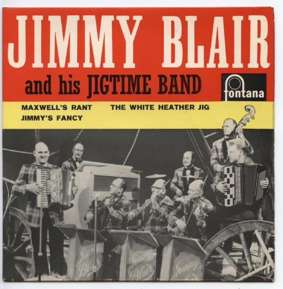 "JIMMY BALIR & HIS JIGTIME BAND ""Maxwell's rant"" EP"
