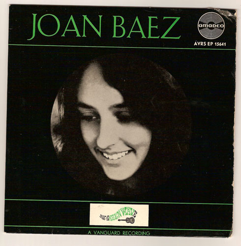 "JOAN BAEZ ""The green wave"" EP"