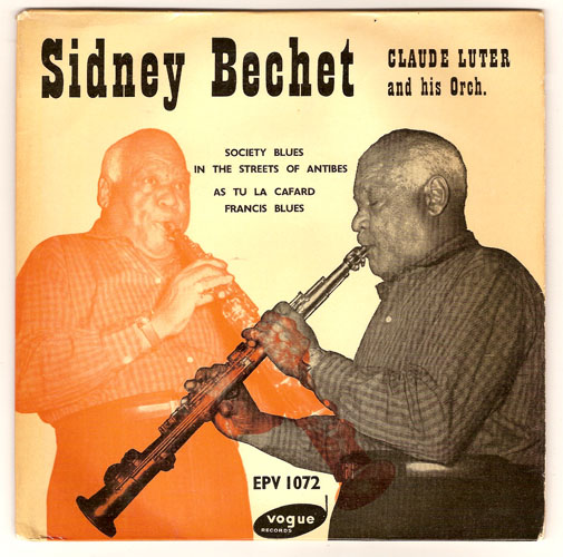 "SIDNEY BECHET ""Society Blues"" EP"