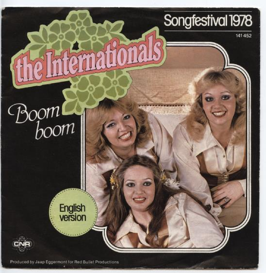 "THE INTERNATIONALS ""Boom Boom"""