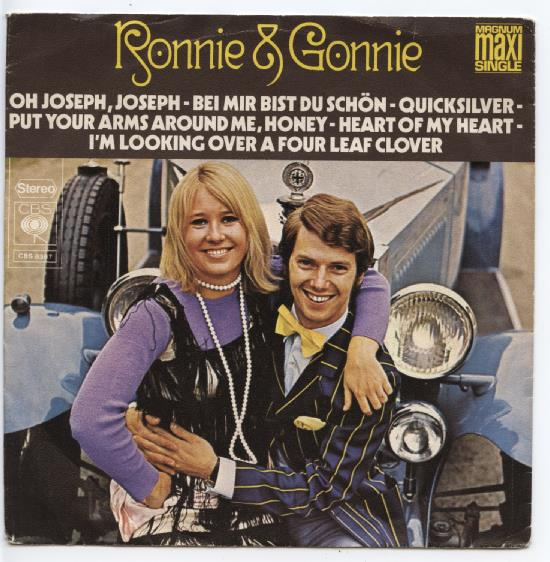"RONNIE TOBER & GONNIE BAARS ""Oh Joseph, Joseph"" (Maxi-single)"