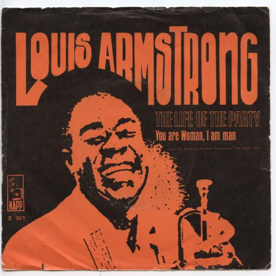 "LOUIS ARMSTRONG ""The life of the party"""