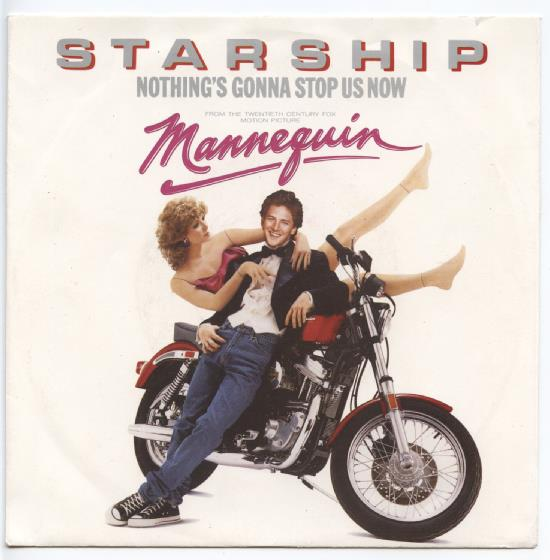 "STARSHIP ""Nothing's gonna stop us now"""