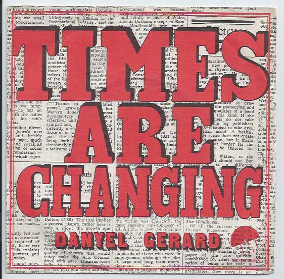 "DANYEL GERARD ""Times are changing"""