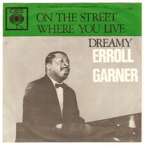 "ERROLL GARNER ""On the street where you live"""