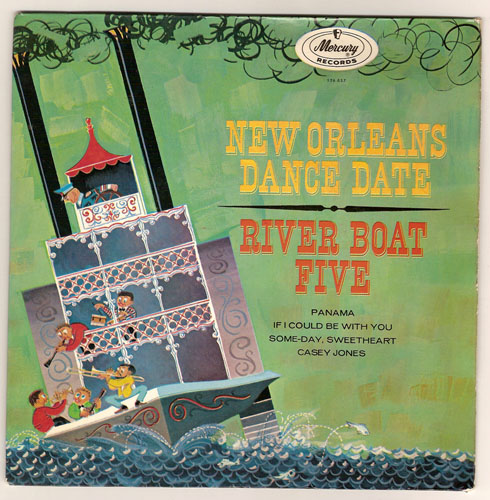 "RIVER BOAT FIVE ""New Orleans dance date"" EP"