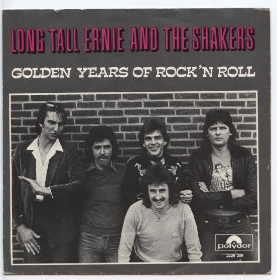 "LONG TALL ERNIE & THE SHAKERS ""Golden years of Rock 'n Roll"""