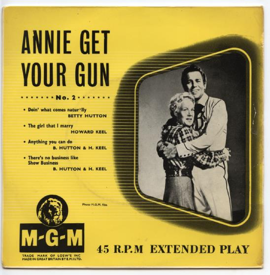 ANNIE GET YOUR GUN NO. 2 EP