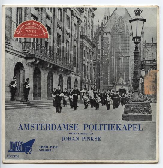 "AMSTERDAMSE POLITIE KAPEL ""Volume I, Mars,Army & Navy songs"" EP"
