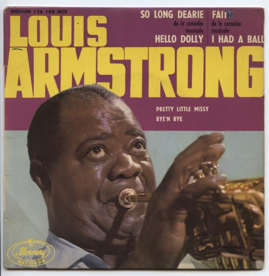 "LOUIS ARMSTRONG ""So long dearie"" EP (fr)"