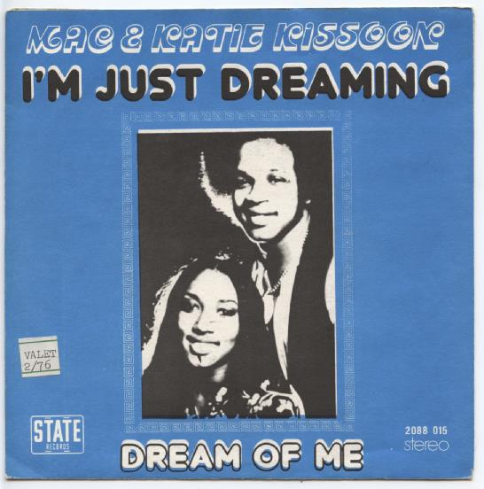 "MAC & KATIE KISSOON ""I'm just dreaming"" (b)"