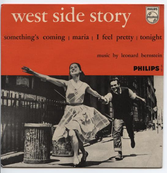 "WEST SIDE STORY ""Something's coming"" EP"