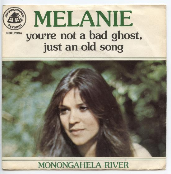 "MELANIE ""You're not a bad ghost, just an old song"""