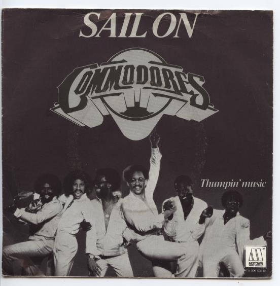 "COMMODORES ""Sail on"""
